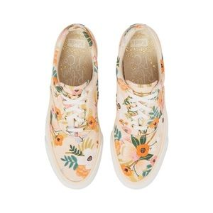 Less x Rifle Paper Co. lace-up floral